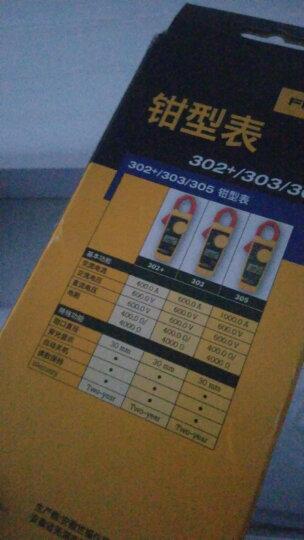 福禄克(FLUKE)303钳形万用表 数字多用表 交直流钳形表 仪器仪表 晒单图