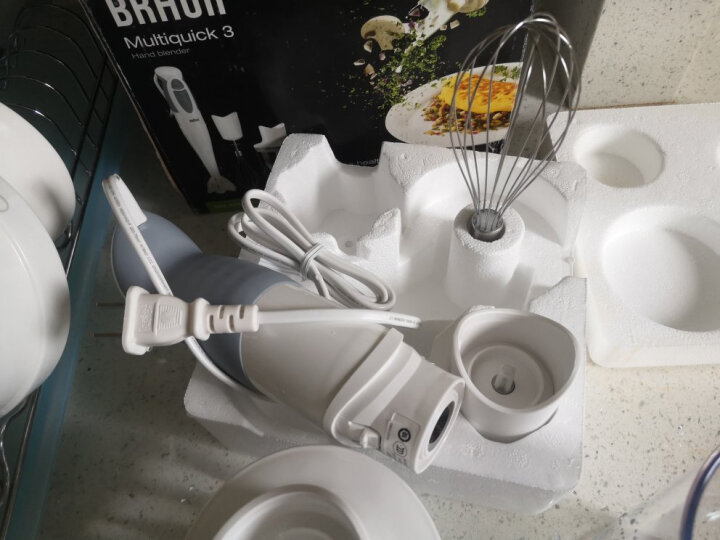 博朗(Braun)料理机 原装进口 家用多功能手持 榨汁婴儿辅食搅拌机料理棒 MQ325 晒单图