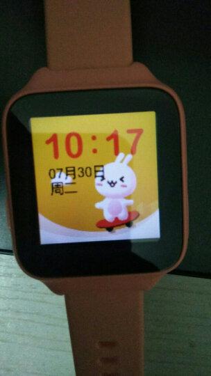 小寻Mibro 小米生态链 儿童电话手表彩屏版 生活防水 GPS定位 学生儿童定位手机 智能手表 男女孩 粉橙色 晒单图