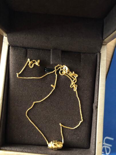 周六福黄金转运珠路路通金珠子散珠计价T 0.72g C款AA160214 已含工费48元 晒单图