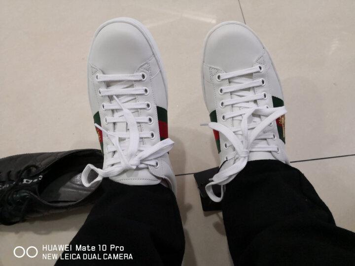 GUCCI古驰男鞋牛皮蜜蜂刺绣运动休闲鞋小白鞋429446 02JP0 9064【预售10-15天】 39 晒单图