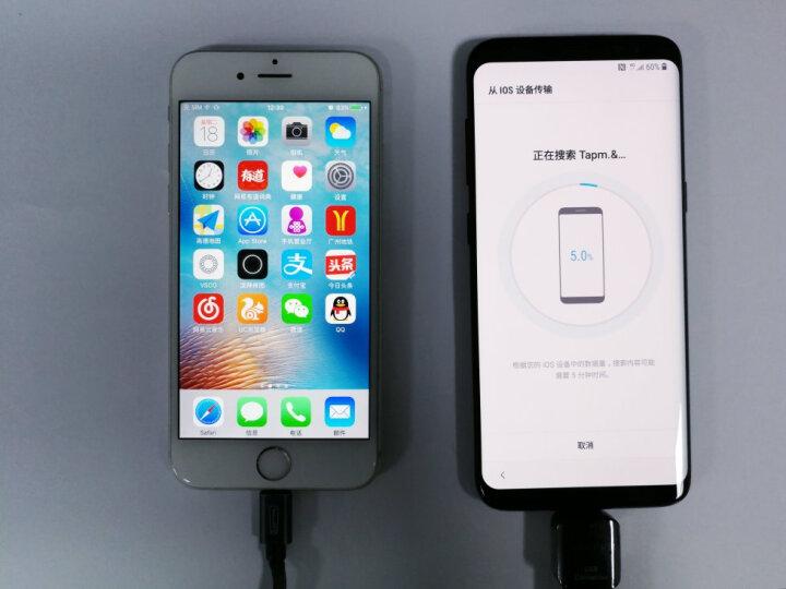 三星 Galaxy S8 4GB+64GB 谜夜黑(SM-G9500)全视曲面屏 虹膜识别  全网通4G 双卡双待 晒单图