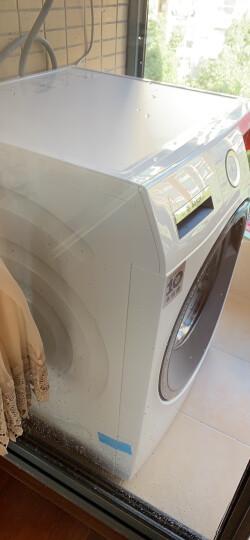 博世(BOSCH) 9公斤 变频 滚筒洗衣机 全触摸屏 静音 除菌 婴幼洗 随心控时(白色)WAU284600W 晒单图