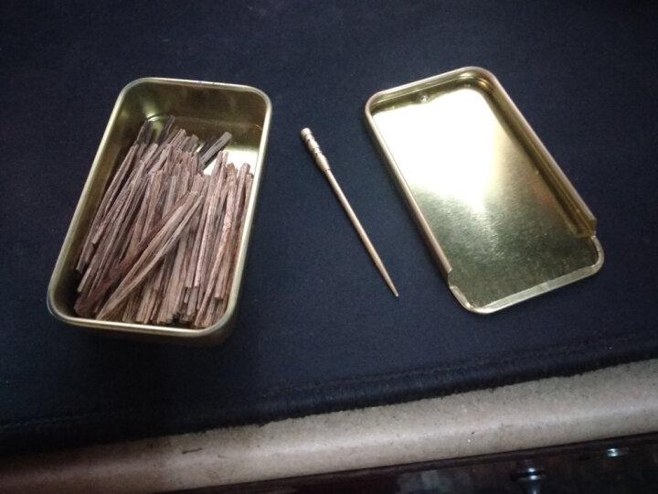 龍隐 沉香烟丝 六星满油特级醇香越南芽庄烟片烟插烟条 商务礼品 香醇清雅 金色铁盒 5克 送烟针 特级醇香 晒单图