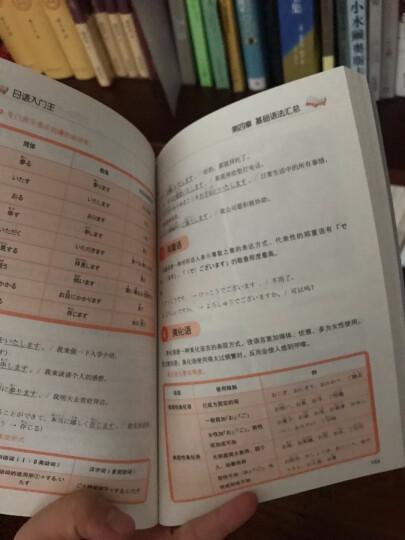新版 我的标准日本语学习书初级-零基础日语入门王  日语入门自学教材 晒单图
