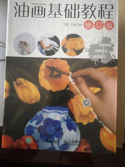 油画基础教程(修订版)  零基础油画入门教程书自学 油画技法油画风景教程从入门到精通 绘画学习 晒单图