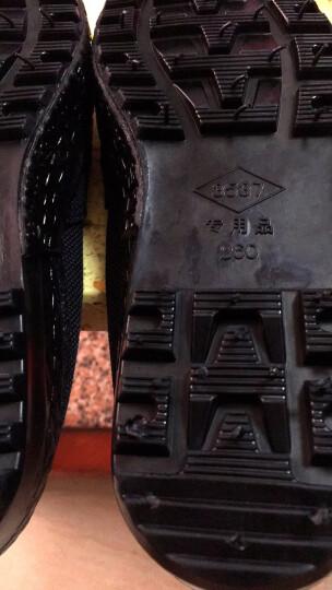 3537军训迷彩鞋男正品军鞋工地耐磨解放鞋男女07作训鞋黑色劳保鞋透气帆布胶鞋训练鞋跑步鞋户外登山鞋 黑色 42 晒单图