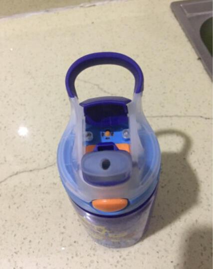 美国contigo康迪克学生塑料水杯运动便携水杯小发明家儿童杯? 400ML机器战士HBC-GIZ038 晒单图