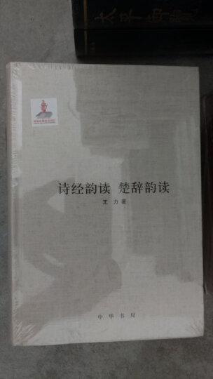 王力全集·第十二卷:诗经韵读·楚辞韵读 晒单图