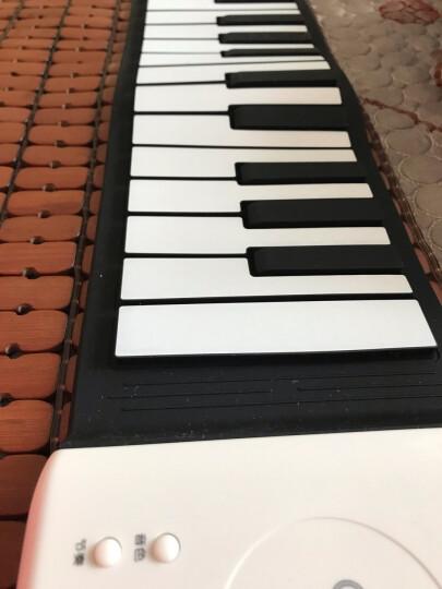贝恩施 儿童玩具手卷钢琴便携电子琴硅胶键盘琴音乐早教乐器玩具男女孩生日礼物 爵士鼓+送充电组+送螺丝刀 晒单图