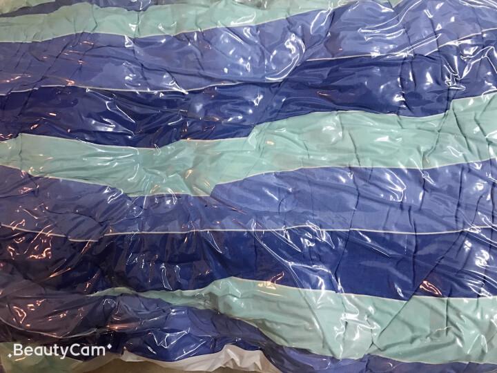 收纳博士真空压缩袋 收纳棉被衣物整理袋 太阳花款【4特大4中】内含手动抽气泵 晒单图
