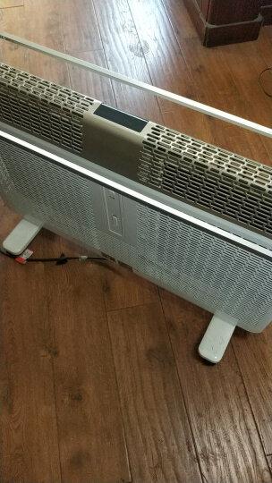 艾美特(Airmate)取暖器家用/电暖器/欧式快热炉 3D立体电暖气/电热炉 遥控大功率取暖HL22087R-W 晒单图