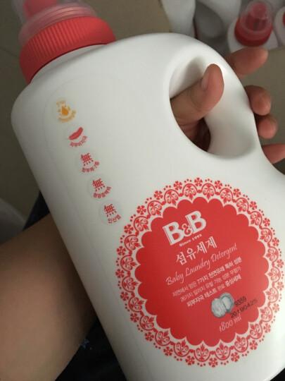 保宁 B&B 婴幼儿洗衣液 替换装 韩国 800ml/袋 晒单图
