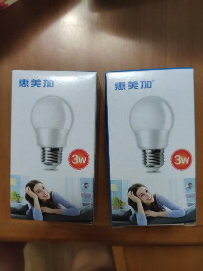 惠美加 led灯泡 E27大螺口灯头 3w5w10w家用白光暖光照明节能灯 超亮筒灯吊灯球泡光源 8W暖光 E27 晒单图