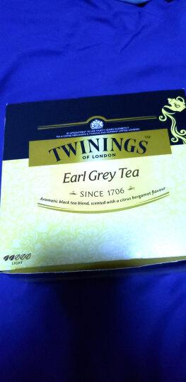 英国川宁(TWININGS) 仕女伯爵红茶 进口茶叶袋泡茶包 25包*2g 晒单图