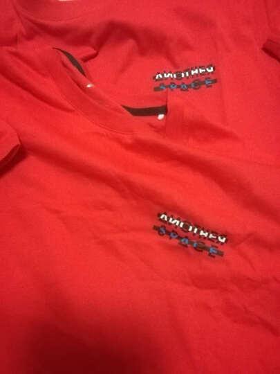 中国李宁短袖t桖男装夏季新款男子纯棉系列圆领半袖健身跑步运动速干T恤衫 219 花灰纹灰 L/175(建议120-140斤) 晒单图