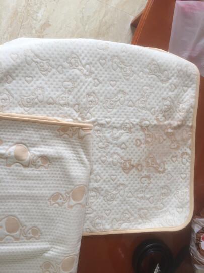 象宝宝(elepbaby)婴儿尿垫 四层加厚 防水透气护理垫 宝宝尿垫大号100X60CM(1条装)大象 晒单图