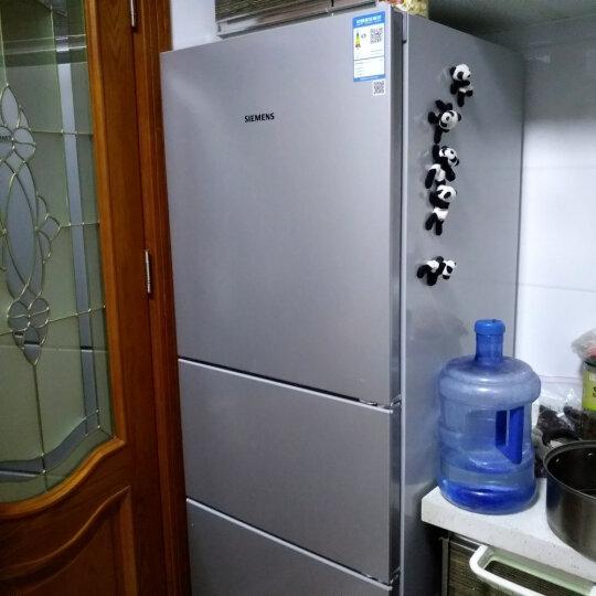 西门子(SIEMENS) 274升 三门冰箱 三循环零度保鲜 保湿 精确控温(拉丝银) BCD-274(KG28FA29EC) 晒单图