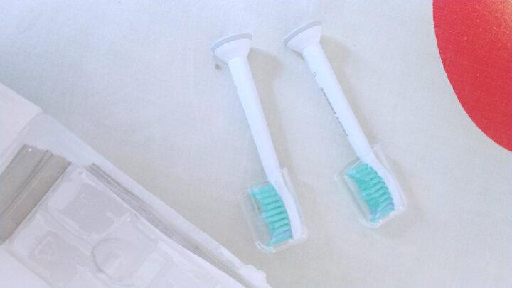 飞利浦(PHILIPS) 电动牙刷头 基础洁净 3支装HX6013 适配HX6730/6511/3216/6972 晒单图