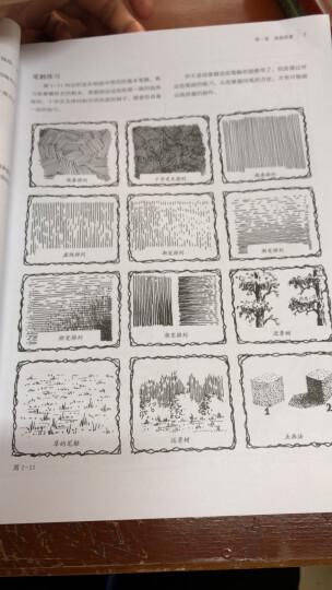 钢笔画技法 怎样画消失中的乡村景观 晒单图