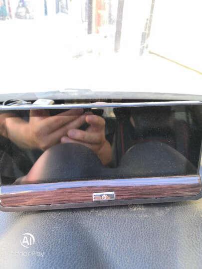 丁威特 7英寸3录4G中控台行车记录仪导航仪语音声控双镜头带电子狗高德地图高清夜视一体机 双录版+4G蓝牙导航+云电子狗+无光夜视+16G 晒单图