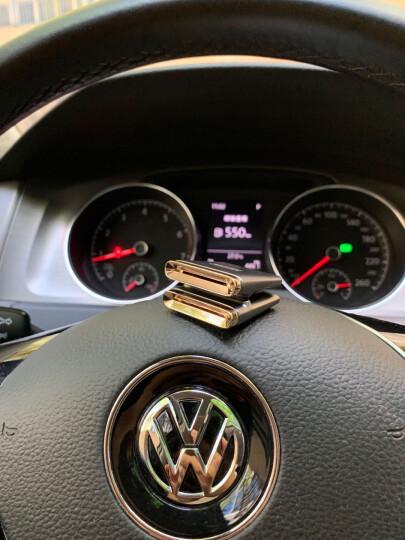 图拉斯(TORRAS)汽车香水 车载香水空调出风口香水座 汽车用品挂件摆件 车内除异味清新香薰棒 限量版-黑色 晒单图
