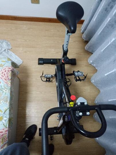 英尔健(yingerjian) 英尔健 动感单车家用 健身车健身器材运动自行车  科技款 911S+特粗车架-铝合金脚踏全包飞轮时尚款:红 晒单图