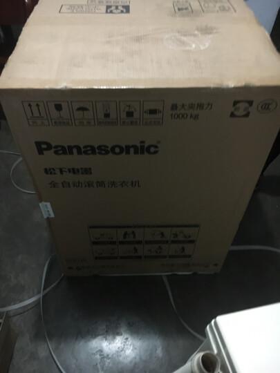 松下(Panasonic)10KG超薄变频洗衣机全自动滚筒 光动银除菌泡沫净XQG100-NATEJ 晒单图
