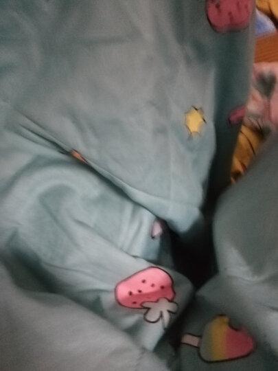 南极人家纺 全棉夏被 里外纯棉空调被子 可水洗夏凉被学生单双人新疆棉花薄被芯床上用品 快乐家园-粉 双人被/200*230cm 晒单图