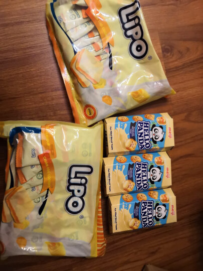 新加坡进口 明治(Meiji)小熊奶油夹心饼干 50g 休闲零食 网红早餐下午茶 晒单图