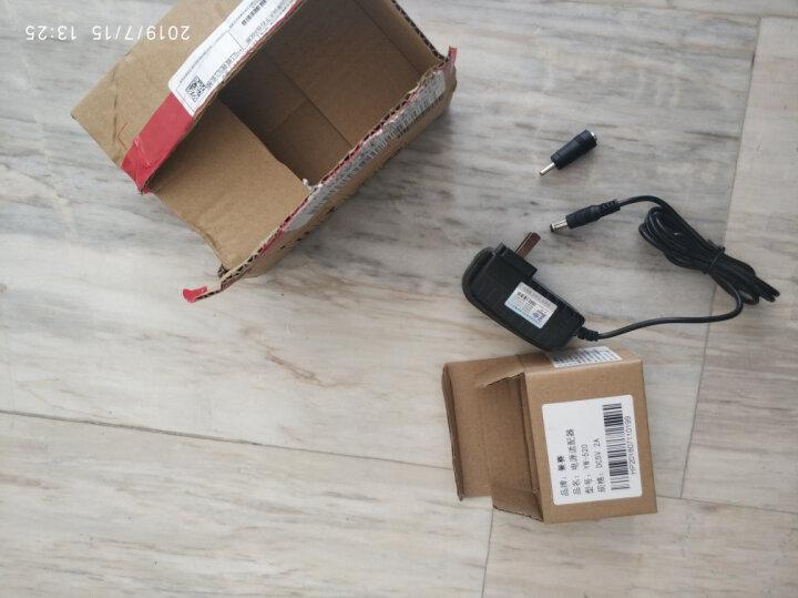 景赛 5V2A电源适配器通用监控摄像头路由器光端机收发器机顶盒分线器充电器5伏1.5A稳压直流电源线 5V2A电源+2.5*0.7mm转换头 晒单图