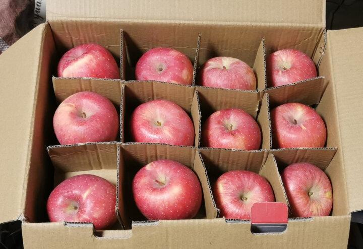 【果哒哒】陕西延安红富士苹果水果礼盒精品85mm 24枚   洛川红富士苹果 线下同款 晒单图