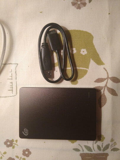 希捷(Seagate)1TB USB3.0移动硬盘 睿品系列 (自动备份 高速传输 兼容Mac) 陨石黑 晒单图