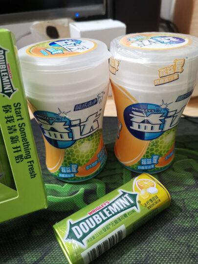 绿箭(DOUBLEMINT)无糖薄荷糖混合口味(薄荷+冰柠+茉莉花茶 35粒23.8g*3金属定制装 ) 晒单图