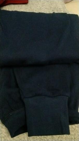 红豆内衣女士纯棉秋裤薄款打底保暖棉毛裤702 紫罗兰 175/100 晒单图