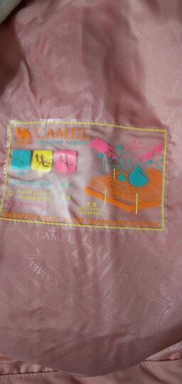 骆驼户外(CAMEL) 冲锋衣男女防污防水三合一两件套冲锋衣男 A7W217127 宝蓝 L 晒单图