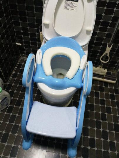 攸曼诚品(eudemon)儿童坐便器女宝宝马桶梯小孩男孩小马桶圈婴儿座垫圈大号便盆尿盆 标准款蓝色 晒单图