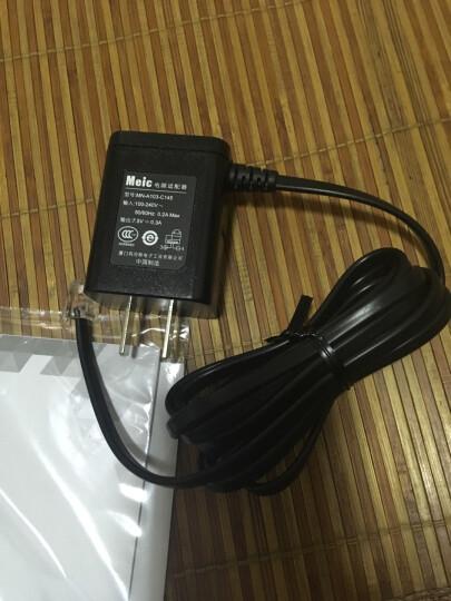 摩托罗拉(Motorola)录音电话机 固定座机 办公家用 智能插TF扩展卡 商务客服电话呼叫中心CT111C黑色 晒单图