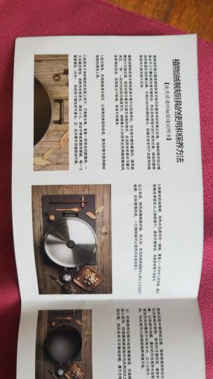 炊大皇 炒锅 32cm圆底铁锅 不锈钢锅盖 中式双耳加厚铸铁锅 明火燃气煤气灶专用 晒单图