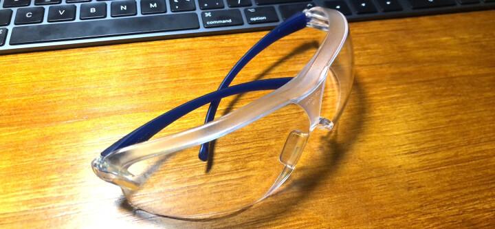 3M 10196 防冲击 防尘防沙 防飞溅 防紫外线 防雾 骑行防风眼镜 晒单图