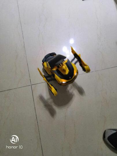 【手表遥控+声控变形】变形金刚玩具6 新奇达擎天柱大黄蜂可声控感应遥控汽车人变形模型儿童男孩玩具  大黄蜂【双遥控+手势感应+声控变形】-三电池 晒单图