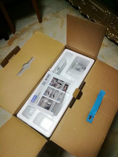 智美佳华(ZMJH)  智能马桶盖即热式洁身器坐便盖板小短款家用全自动冲洗烘干加热通用多功能 ZMA102D 短款(长47.5cm)【基础款】 晒单图