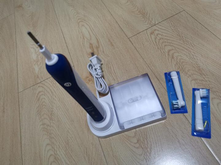 欧乐B 电动牙刷头 超细毛柔护4支装 保护牙龈 EB60-4 适配成人2D/3D全部型号 德国进口 官方正品 晒单图
