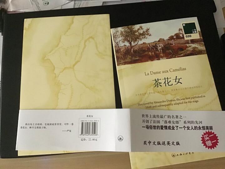 文学名著:茶花女(附赠英文原版) 晒单图
