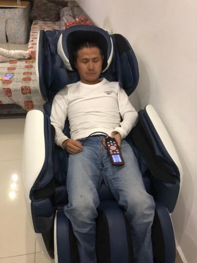 尚铭电器(SminG) 尚铭电器 按摩椅家用 太空舱零重力全身多功能按摩椅SM-700 蓝白色 晒单图
