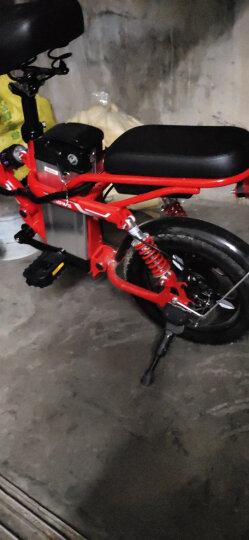 英格威 电动滑板车8寸P7款便携式迷你可折叠锂电池电动自行车电瓶车代步车36V男女通用 旗舰版36V34A80-110KM 晒单图