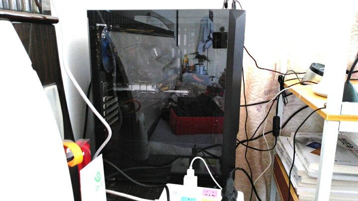 全汉(FSP)额定500W 蓝暴炫动Ⅱ代500W 电源 (12cm温控风扇/单路12V/支持背线) 晒单图