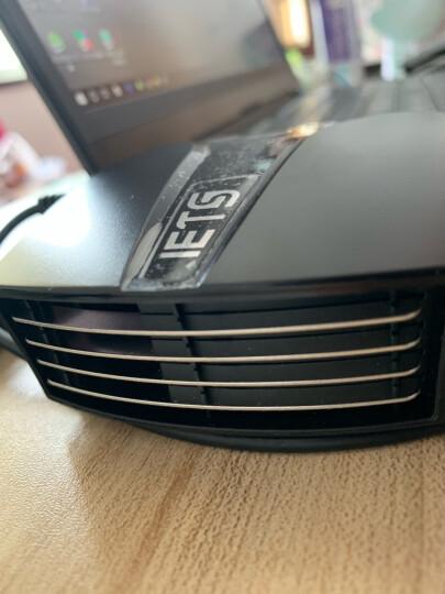 ETS六代 笔记本抽风式散热器 后吸风式侧吸风冷散热器手提电脑排风扇水冷机适用14英寸15.6 17 ETS六代强力双电源供电带显示版本 晒单图