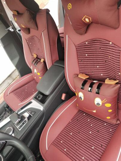 翰静 四季通用汽车坐垫全包小车皮套卡通汽车座椅套 神秘黑 哈弗H6 F7 M6 H4 H2 F5欧拉R1 晒单图
