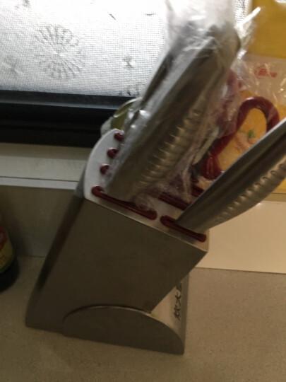 炊大皇刀具套装菜刀厨师刀斩骨刀切片刀水果刀剪刀不锈钢刀具七件套装WG14467 晒单图